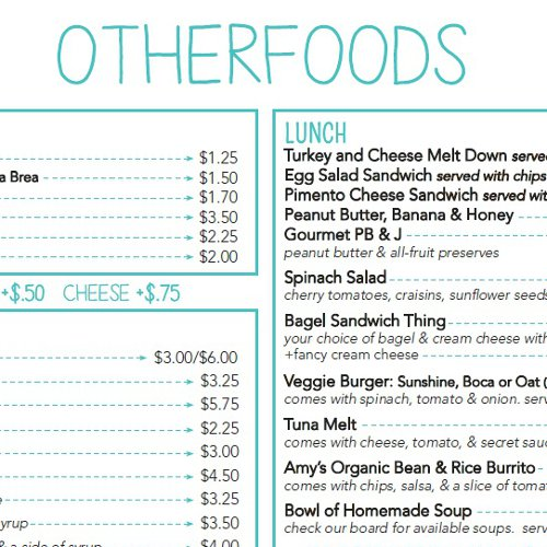 Otherlands Menu